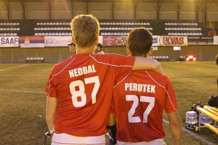 Nerozlučné duo J. Nedbal + V. Perutek